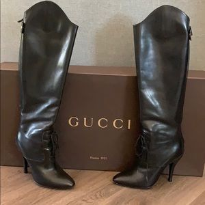Gucci Riding Boots Knee High